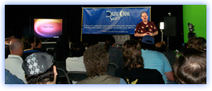 Standing room only at the 2008 O.C Animation Celebration!