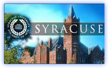 "Steve was invited to speak on the ""Future of Filmmaking"" at Syracuse University"